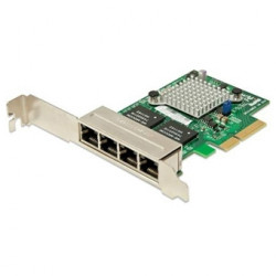 XG-7100 Quad-Port Adapter Card with PCIe Installation Kit